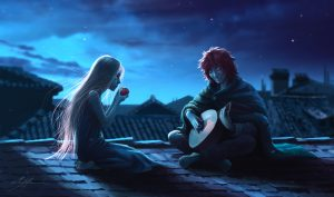 auri_and_kvothe_by_manweri-d9ggl69